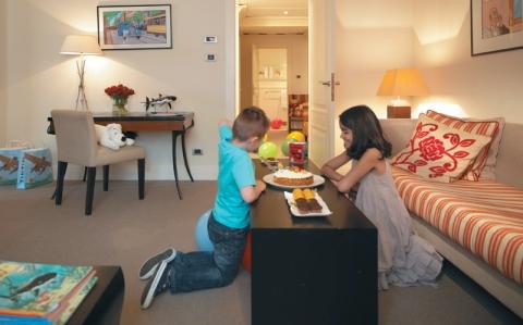 "Amigo Rocco Forte Tintin Suite: All Rocco Forte European hotels offer the ""Families R Forte"" program."