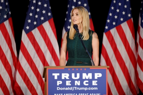 Ivanka Trump speaking