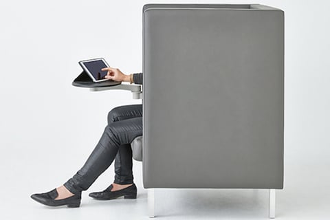 Optimal Privacy: Tuxedo High Back Lounge Chair By Nienkämper