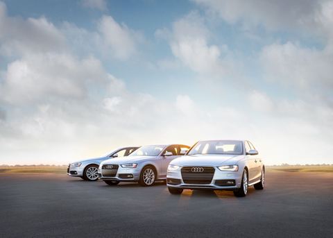 Silver Audi