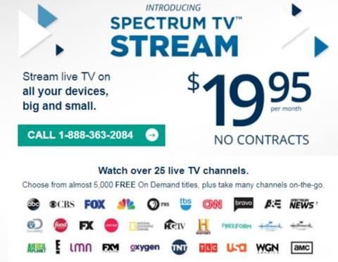 Charter's Spectrum Stream