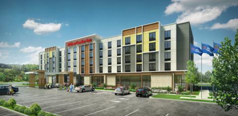 Hilton Garden Inn details full brand refresh Hotel Management
