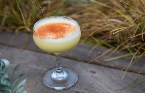 Blanco de Almendra by Christina Russo at The Boardroom in Los Angeles - Tiki syrup cocktails