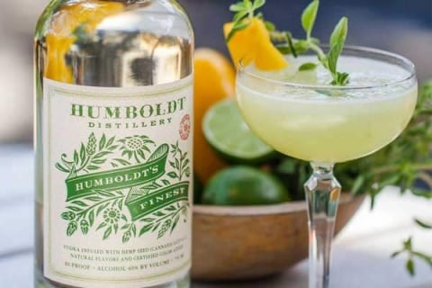 Humboldt's Finest Green Gardens recipe - Humboldt Distillery cocktail recipes