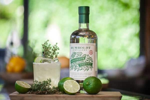 Humboldt's Finest High Thyme recipe - Humboldt Distillery cocktail recipes