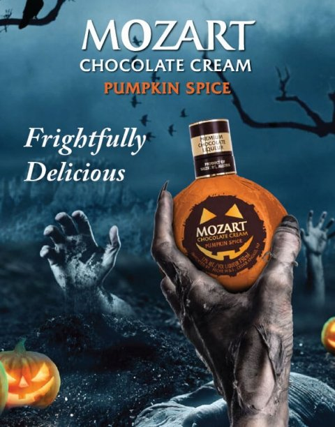 MOZART Chocolate Cream Pumpkin Spice Liqueur - What's Shakin' week of August 7