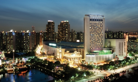 Lotte Hotel World Seoul Jamsil South Korea