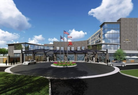 Dual Branded Marriott Hotel And Residence Inn Opens In Columbus Ohio