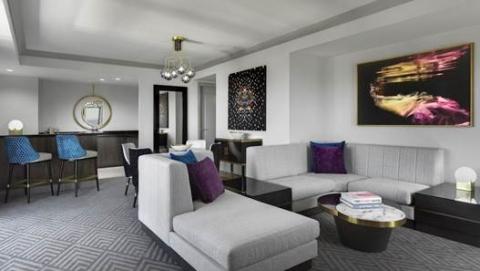 Cosmo 2 Bedroom City Suite Style Interior cosmopolitan las vegas to renovate 2,895 of 3,027 guestrooms