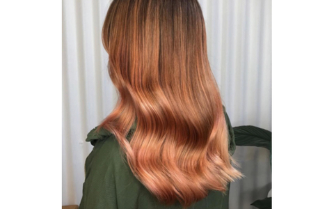 Peachy Copper color