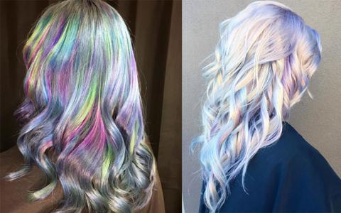 Meet The Newest Hair Trend Iridescent Opal American Salon