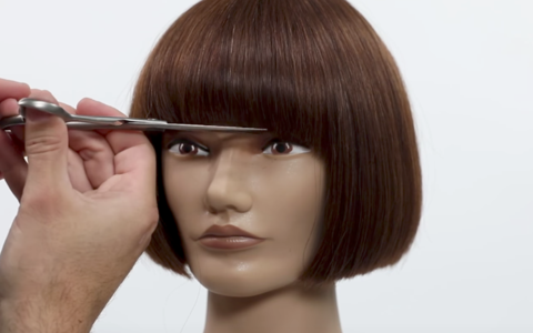 How to video one length bob with fringe american salon how to video one length bob with fringe urmus Choice Image