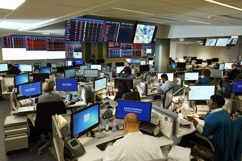 Johns Hopkins Command Center