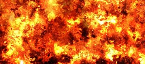 explosion fireball