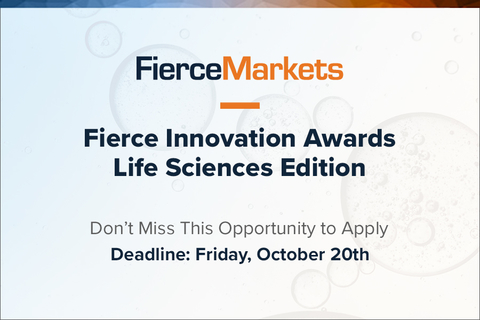 Fierce Innovation Awards Life Sciences Edition