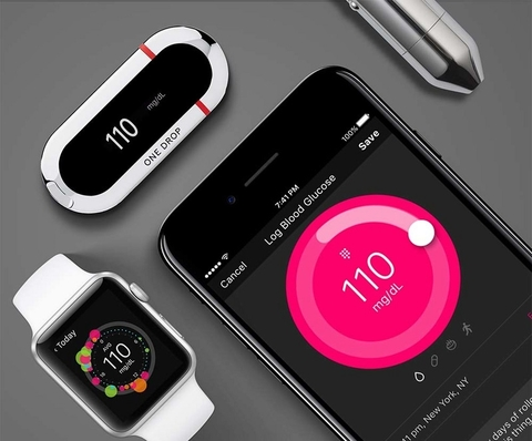 one drop app, glucose meter