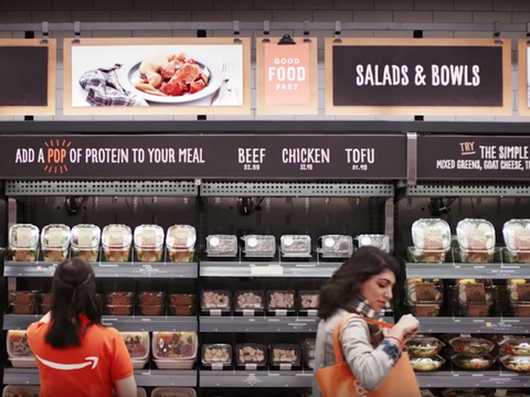 Amazon exploring technology to produce meals not requiring refrigeration