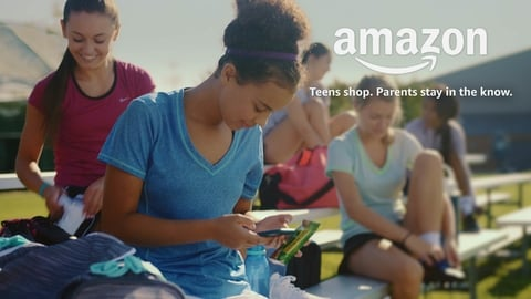 Amazon gives teens the freedom to shop with a unique login and password