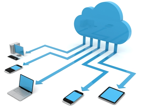 Cloud connecting to devices
