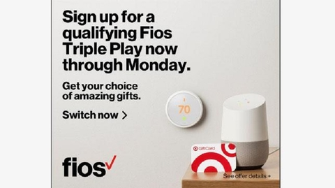 Fios / Mbps Internet $/mo for 2 yrs with no annual contract plus Amazon Echo (2nd Gen) on us (auto pay rqd). No Verizon Fios coupon code is required.