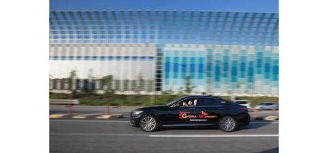 SK Telecom autonomous car (SK Telecom)
