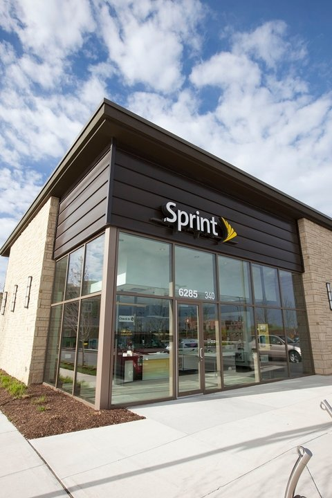 Sprint store (with new logo, use this)