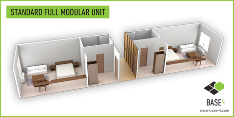 Modular design is advancing in the U S , but it's not right for