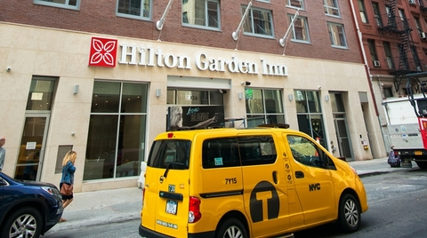 M R Hotel Management To Operate Newly Opened Times Square Hilton Garden Inn Hotel Management