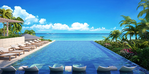 Marriott mori trust group to develop okinawa luxury for Design hotel okinawa