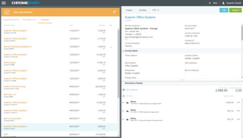 Chrome River Unveils Nextgen Invoice Management Tool Hotel Management - Tophatter com invoices