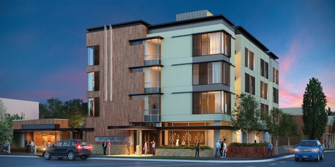 The New Property Is 61 Room Park James Hotel Which Being Developed