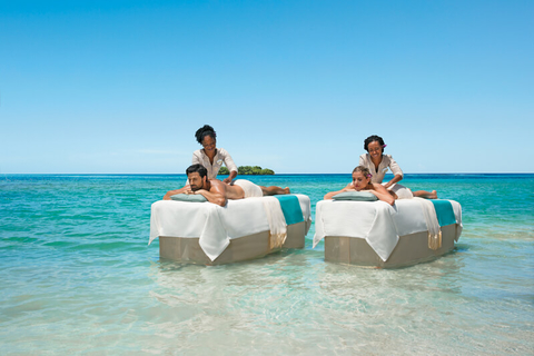 Zoetry Montego Bay Couples Massage Sea