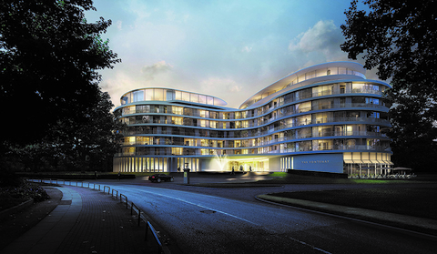 Floating Rotherbaum the fontenay hamburg s luxury hotel in 18 years luxury