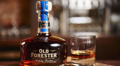Old Forester Kentucky Straight Bourbon Whiskey 2017 Birthday Bourbon - What's Shakin' week of August 14