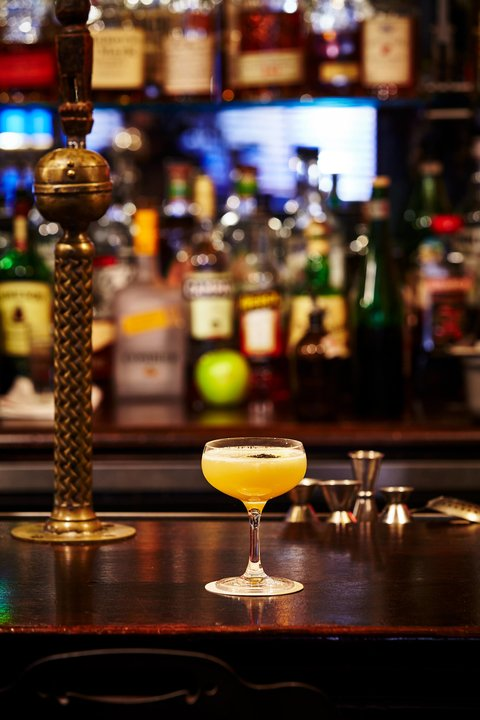 The Powder Keg cocktail at Kings County Imperial - National Whiskey Sour Day 2017 recipes