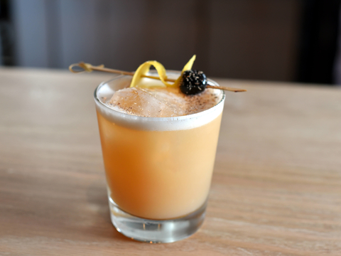 Whiskey Sour cocktail at Faro - National Whiskey Sour Day 2017 recipes
