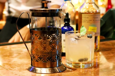 South by Southwest cocktail at Stoke by Sean Potter - Summer seasonal recipes