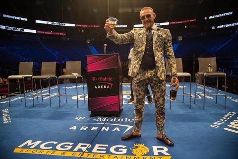 Conor McGregor announces intention to enter whiskey market with Notorious Irish Whiskey - What's Shakin' week of August 28