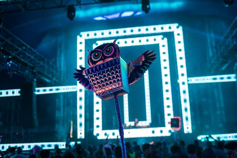 Insomniac Events Night Owl logo - 7 Things Operators can Learn from EDC Las Vegas