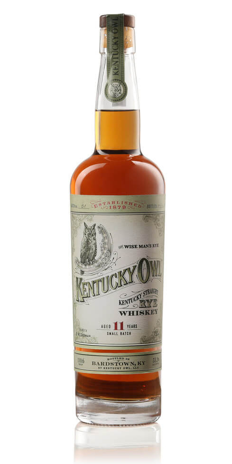 Kentucky Owl 11 Year Old Straight Rye Whiskey limited edition release - What's Shakin' week of September 4