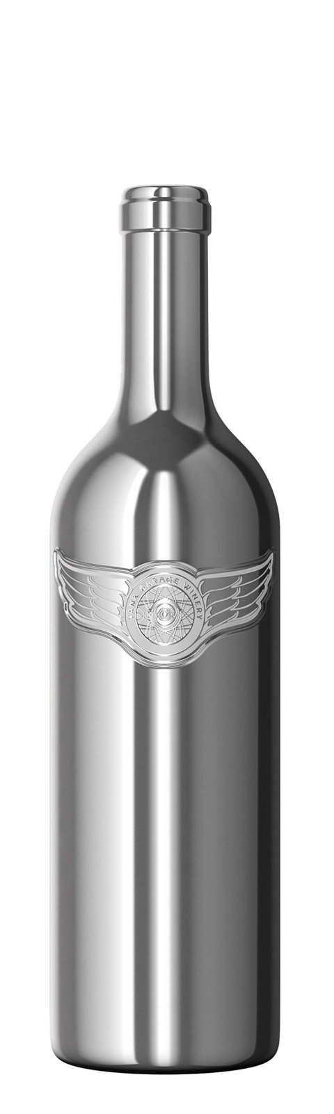 Tank Garage Winery releases 2015 Chrome Dreams in first ever chrome-glass wine bottle - What's Shakin' week of September 4
