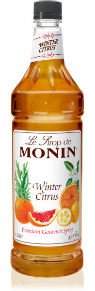 Monin Gourmet Flavorings Winter Citrus Syrup - What's Shakin' week of September 11