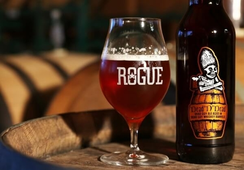 Rogue Ales Dead 'N' Dead whiskey barrel-aged ale - What's Shakin' week of September 18