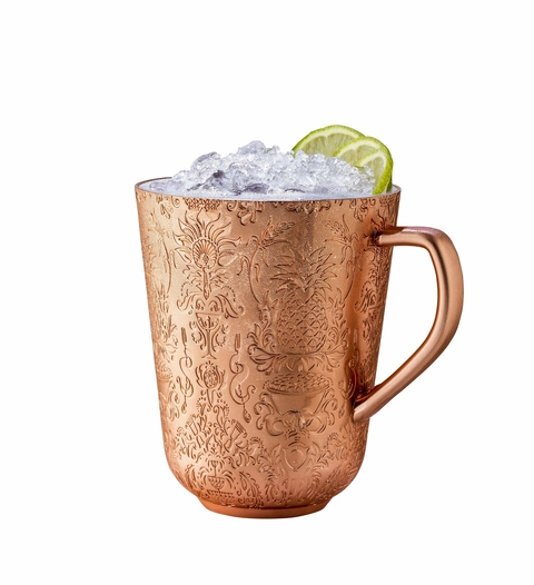 Absolut Elyx Vodka Yule Mule cocktail - 2017 National Vodka Day recipes