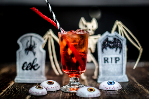 Drink Company PUB Dread Beetlejuice, Beetlejuice, Beetlejuice! cocktail - Halloween pop up bar promotion