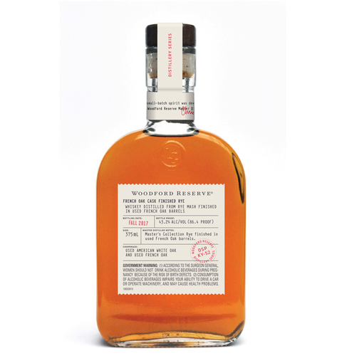 Woodford Reserve Distillery Series French Oak Cask Finished Rye - What's Shakin' week of October 16