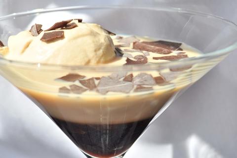 Mississippi Mud Bottom cocktail by Casey Chapman at Bastille Brasserie & Bar - Thanksgiving dessert pie drink recipes