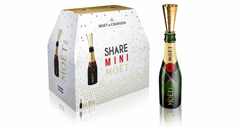 Moët & Chandon Impérial share mini six pack - Booze & Baubles Holiday Gift Guide