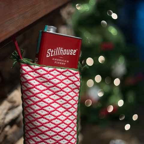Stillhouse Spirits Co. Roadie whiskey can stocking stuffer - Booze & Baubles Holiday Gift Guide