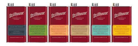 Stillhouse Spirits Co. whiskey lineup